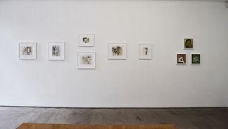 John Lees, New Paintings & Drawings, installation view