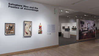 Salvatore Meo and the Poetics of Assemblage, installation view