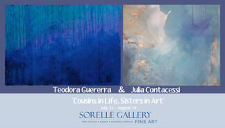 COUSINS IN LIFE, SISTERS IN ART, installation view