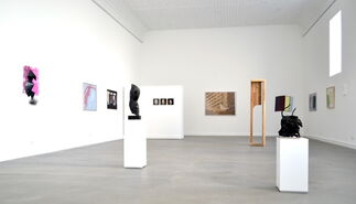 Divina Commedia, illustrations by Wanda Tuerlinckx, installation view