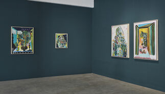 Green Room, installation view