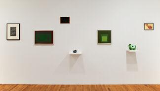 Josef Albers / Ken Price, installation view