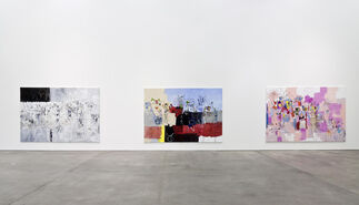 """George Condo, """"Paintings & Sculpture"""", installation view"""