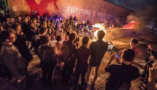 Istvan Kantor:  Etude to Asylum, installation view
