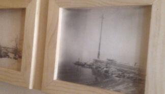 Bombay Beach Biennale Polaroid Exhibition curated by Stefanie Schneider, installation view