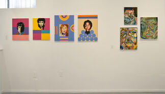 About Face, installation view