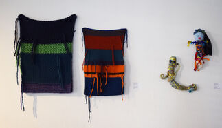 Knotted, Pieced & Wound, installation view