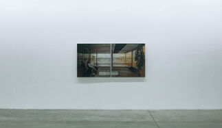 On a Boat, Looking to Land, installation view