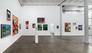 Künstler der Galerie, installation view