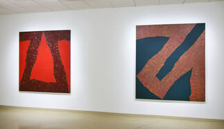"""Mario Yrisarry - """"Stenciled and Sprayed: Paintings from 1961 - 1967"""", installation view"""