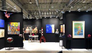 Galerie Deza at Contemporary ART FAIR Paris 2019, installation view