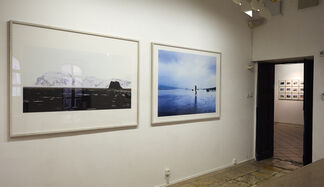 Neil Folberg & Israel Hershberg preview of new works, installation view
