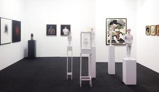 galerie burster at Kunst 17 Zürich, installation view