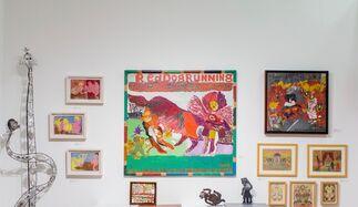 ZQ Art Gallery at Outsider Art Fair 2018, installation view