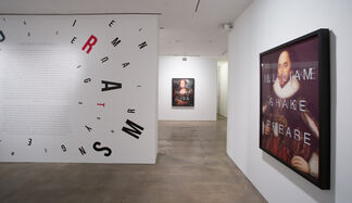 Anagrams, installation view