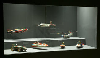 BURIKI Japanese Tin Toys from the Golden Age of the American Automobile, installation view