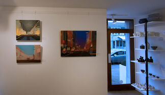 Christopher Farrell 'Vantage Point - A Contemporary View of Oxford', installation view