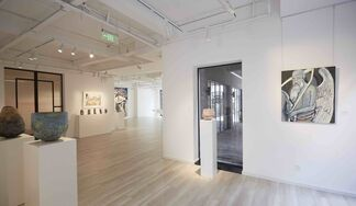 Water & Earth - Two solo exhibitions of Jasmine Little & Jay Kvapil, installation view