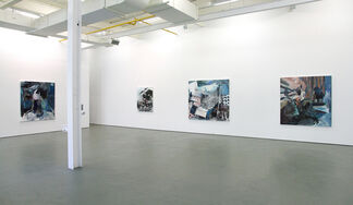 Martin Golland, Setting the Stage, installation view