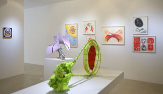 Works by John Newman, installation view