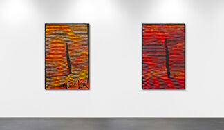 40 years of Ronnie Tjampitjinpa, installation view