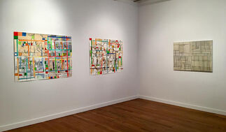 Hearne Pardee: N/S/E/W: Painting Drawing Collage, installation view