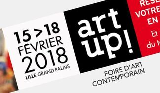 Borabeau Art Gallery at Art Up! Lille 2018, installation view