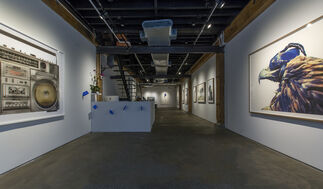 Eagle Hunters, installation view