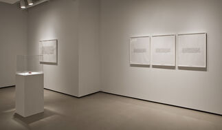 Bethany Collins: Inquiry's End, installation view