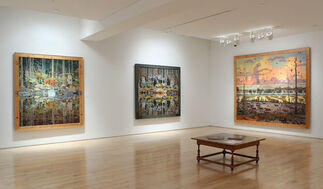 Tom Uttech:  New Paintings, installation view