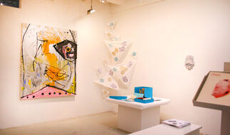 COMFORT LEVEL, featuring TOOL BOX: an artist's edition and fundraiser, installation view