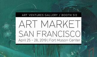 Art Ventures Gallery at Art Market San Francisco 2019, installation view