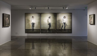 Andy Denzler - The Painter's Room, installation view