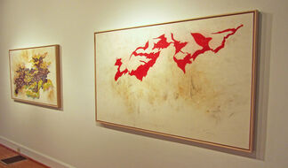 Ray Kass: Oil and Water, installation view