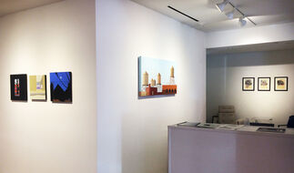 Constructing Worlds: Intersections of Art and Architecture, installation view