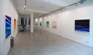 Kamal Boullata: ... And There Was Light, installation view