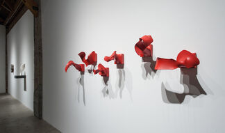 Minimally Speaking: Sculpture by Stephanie Blake, John Luebtow, Matt Magee, Peter Millett, Mark Pomilio, and Denise Yaghmourian, installation view