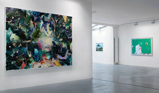 Matthias Weischer - Thicket, installation view