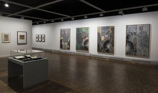 Jasper Johns + Edvard Munch, installation view