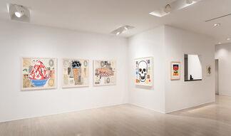 Donald Baechler, installation view