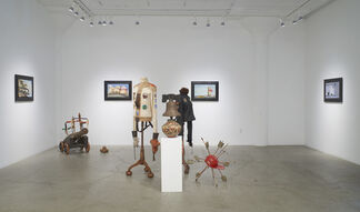 "Walter Robinson | ""Discorporate"" and Scott Greene | ""Deluge"", installation view"