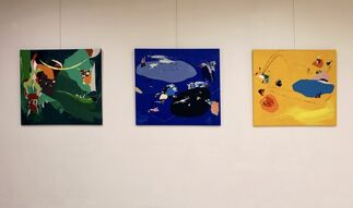 A is for Abstract, installation view