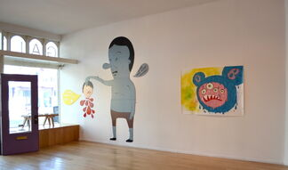 Welcome To Duckland by Laurina Paperina, installation view