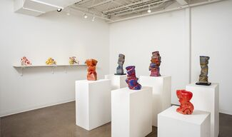 Coloring Outside The Lines, installation view
