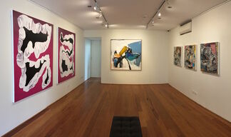 Rodeo Sideshow, installation view