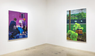 Patrick Bayly: like a lion, my hands and my feet, installation view