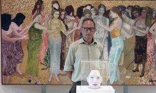 """Antonio Maya """"Topografía de lo invisible- La belle noiseuse"""", installation view"""