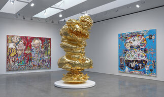 Takashi Murakami: In the Land of the Dead, Stepping on the Tail of a Rainbow, installation view