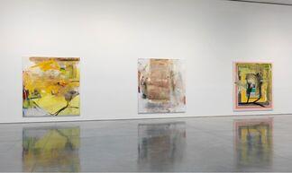 Albert Oehlen: Elevator Paintings: Trees, installation view
