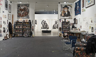 Wes Lang - The Studio, installation view